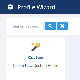 Profile Wizard