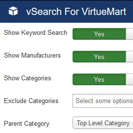 vSearch for virtuemart
